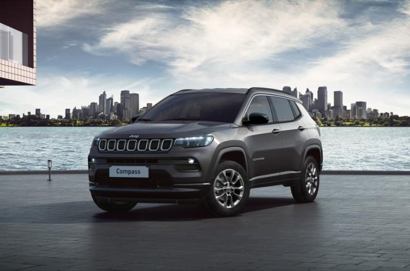Jeep Compass Longitude Olive Green